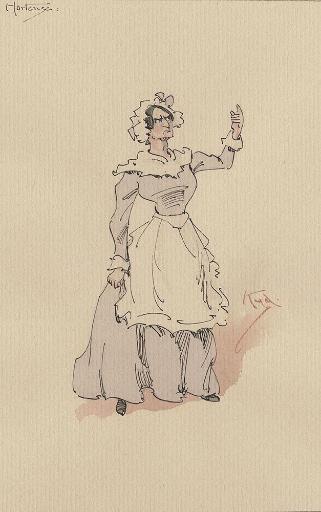 Illustrations of Characters in Dickens's Bleak House--Hortense