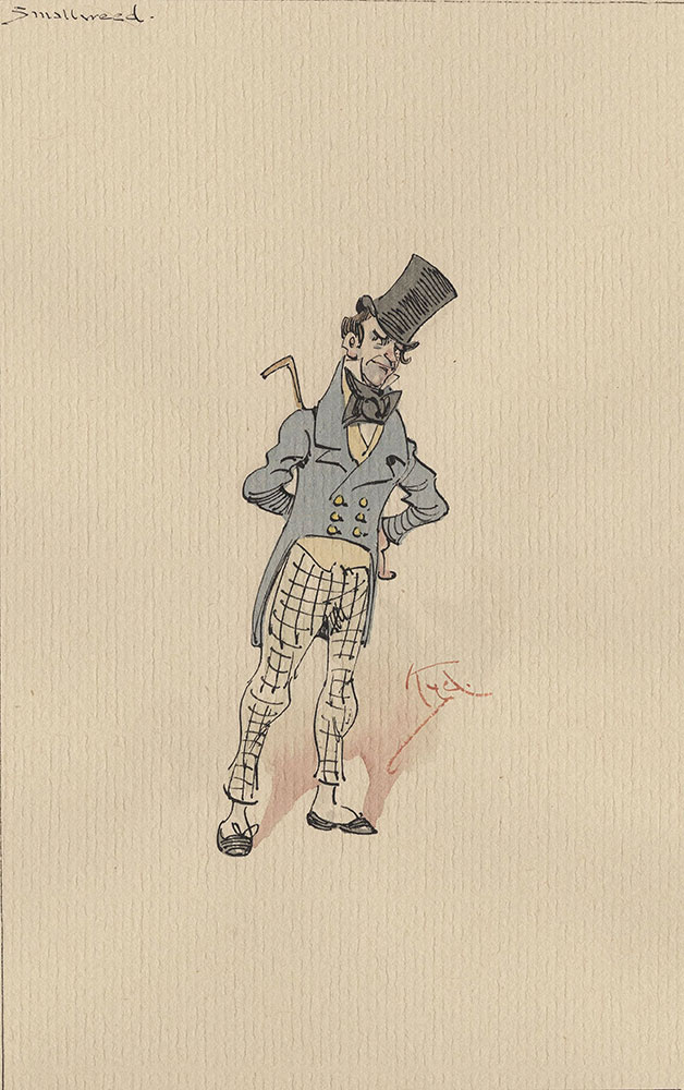 Illustrations of Characters in Dickens's Bleak House--Smallweed