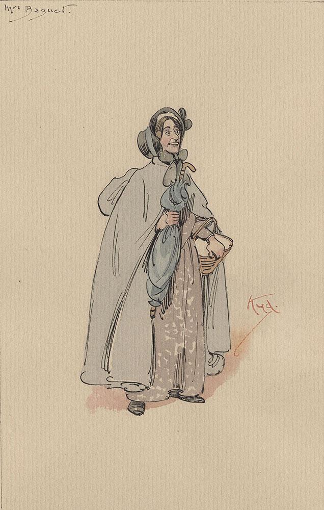 Illustrations of Characters in Dickens's Bleak House--Mrs Bagnet