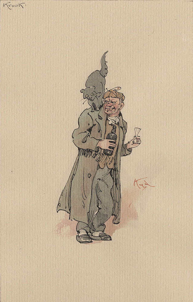 Illustrations of Characters in Dickens's Bleak House--Krook