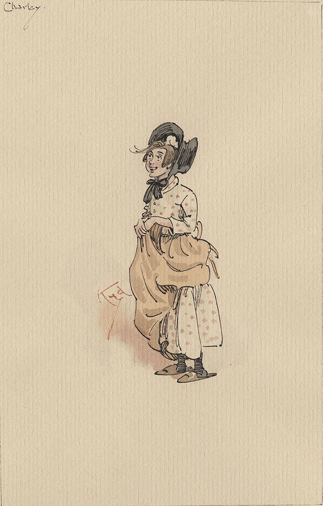 Illustrations of Characters in Dickens's Bleak House--Charley