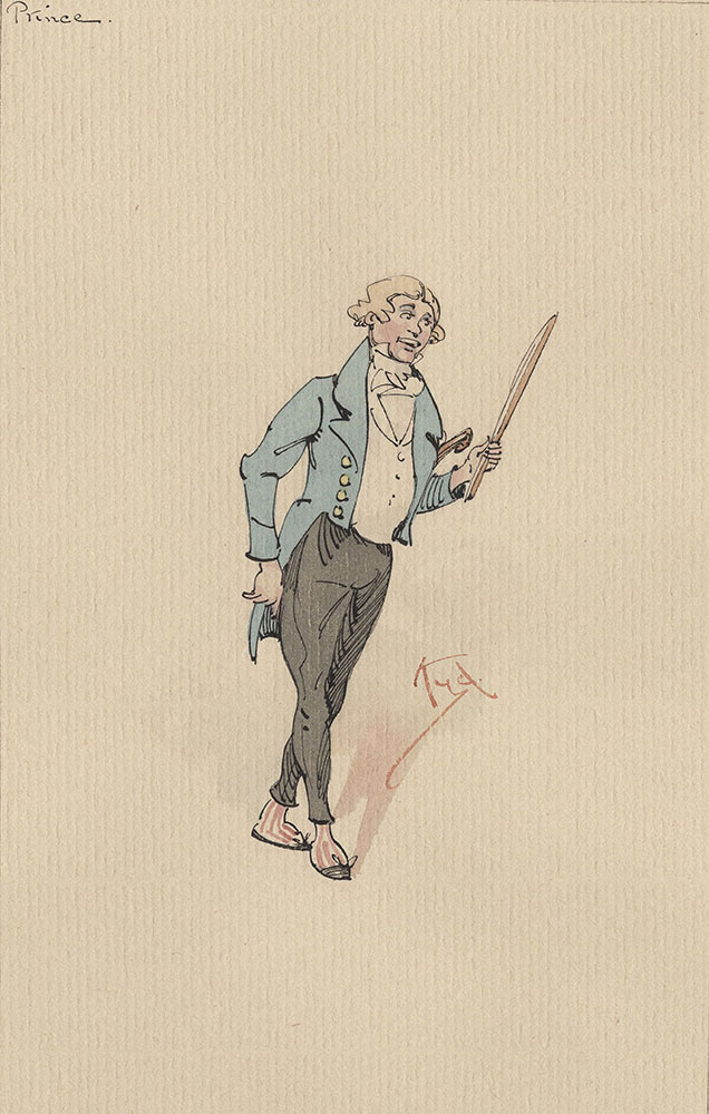 Illustrations of Characters in Dickens's Bleak House--Prince