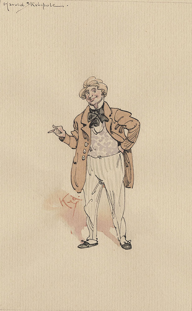 Illustrations of Characters in Dickens's Bleak House--Harold Skimpole