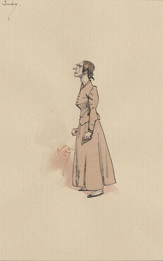 Illustrations of Characters in Dickens's Bleak House--Judy