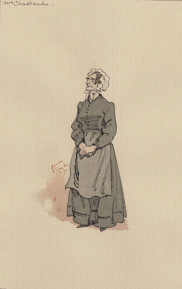 Illustrations of Characters in Dickens's Bleak House--Mrs Chadband