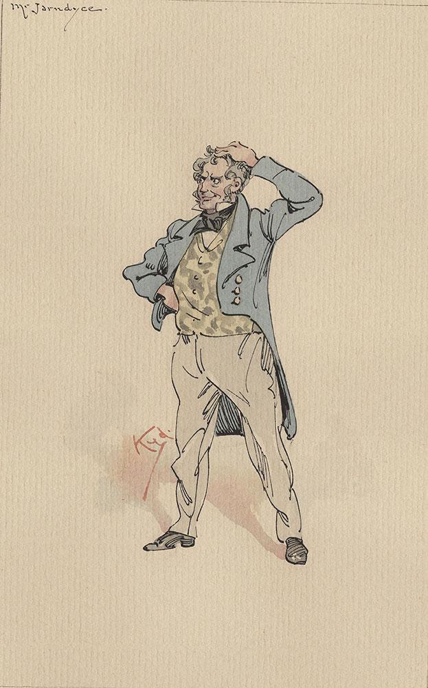 Illustrations of Characters in Dickens's Bleak House--Mr Jarndyce