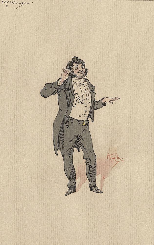 Illustrations of Characters in Dickens's Bleak House--Mr Kenge