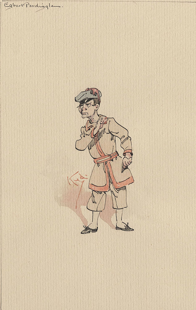 Illustrations of Characters in Dickens's Bleak House--Egbert Pardiggle