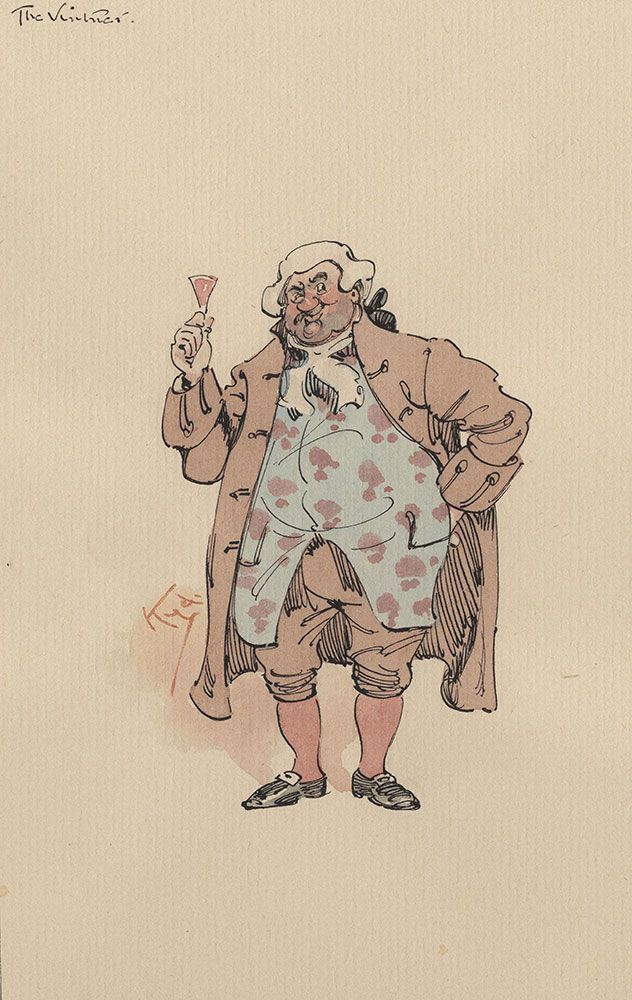 Illustrations of Characters in Dickens's Barnaby Rudge