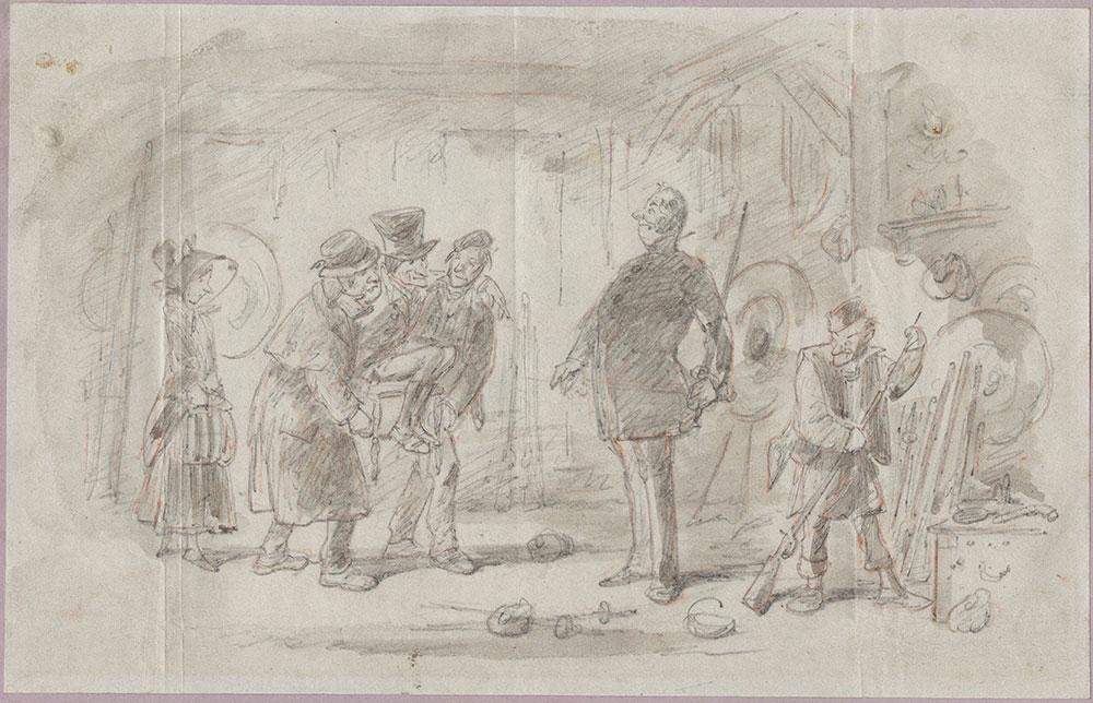 Original Illustration for Bleak House