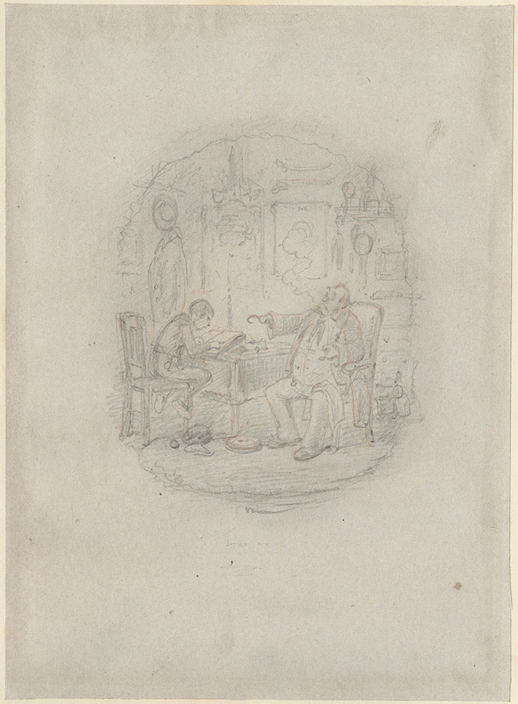 Original Illustration for Dombey and Son