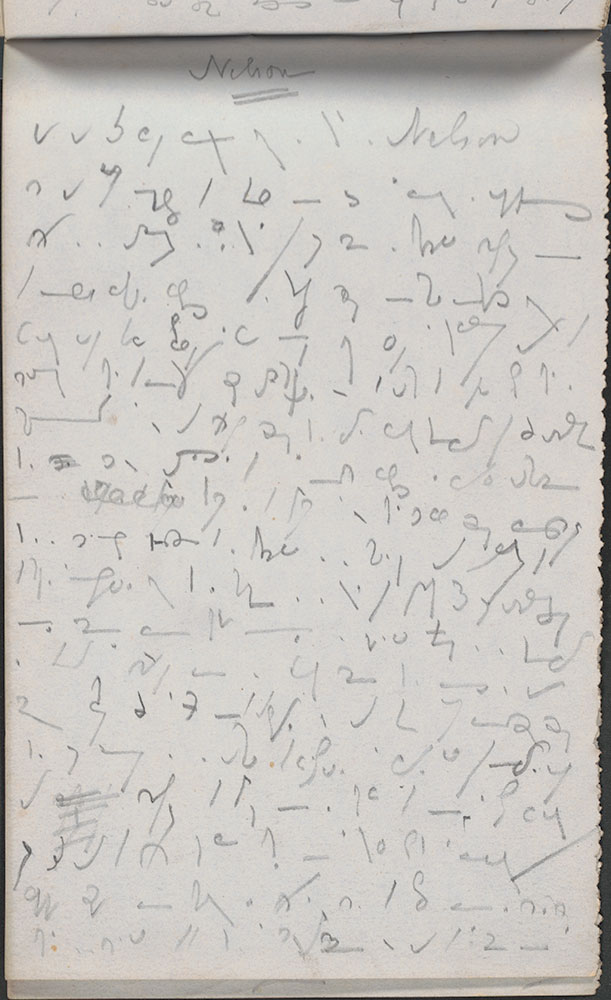 Five Shorthand Note Books by Charles Dickens