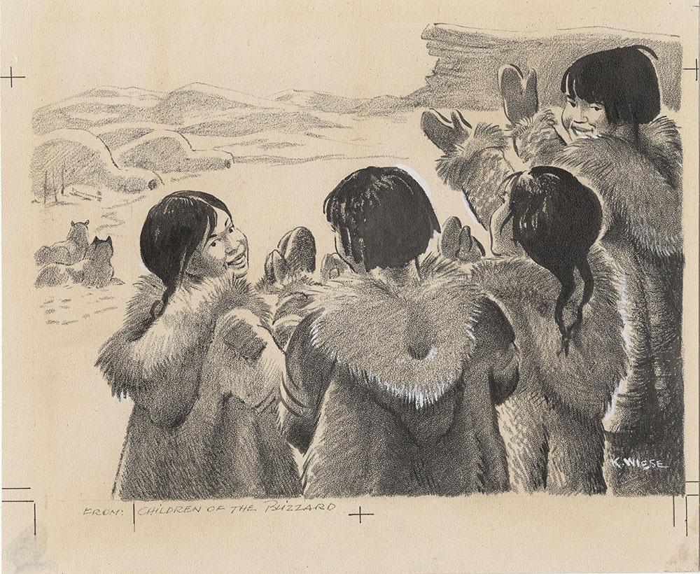 Wiese - Children of the Blizzard - Dust Jacket Artwork