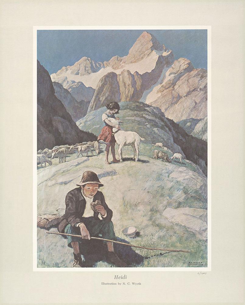 Wyeth - Heidi print