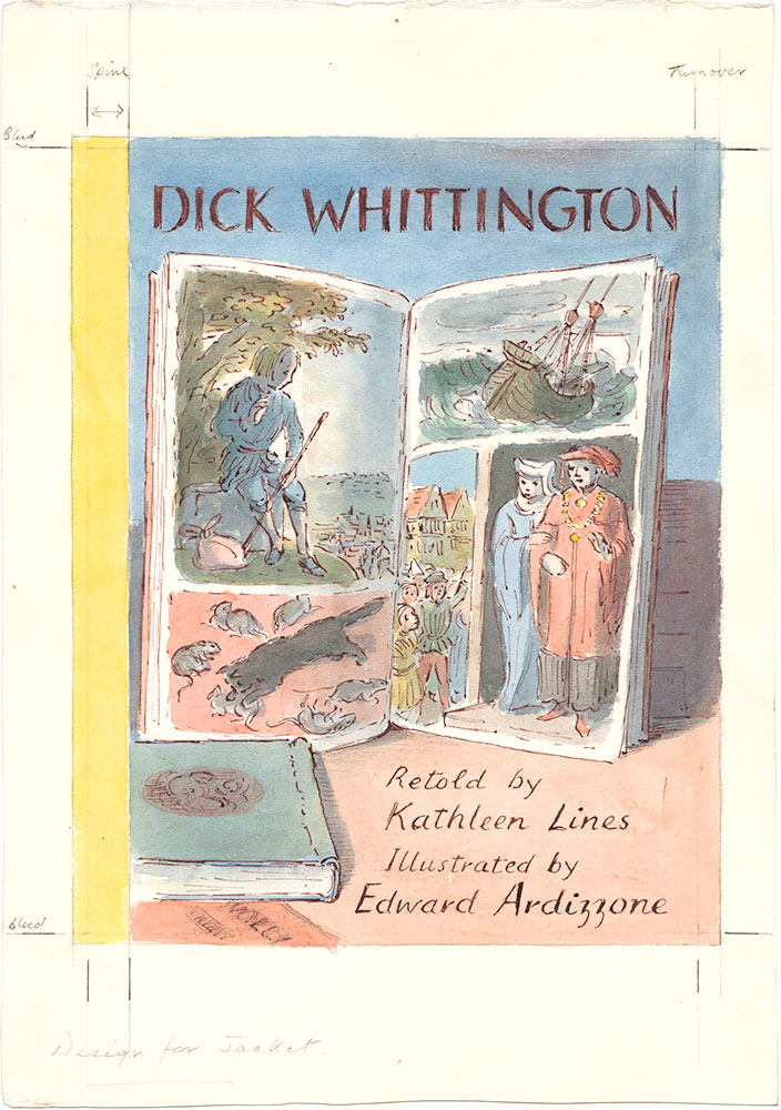 Ardizzone - Dick Whittington - Unpublished Cover