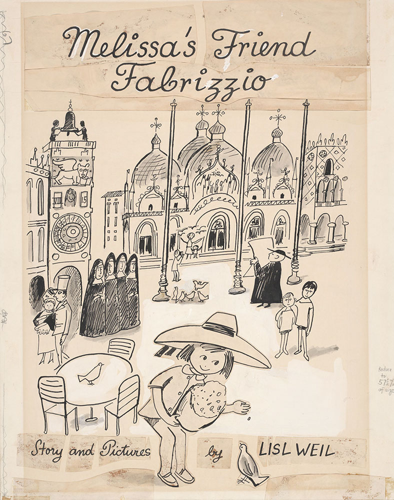 Weil - Melissa's Friend Fabrizzio - Cover Illustration