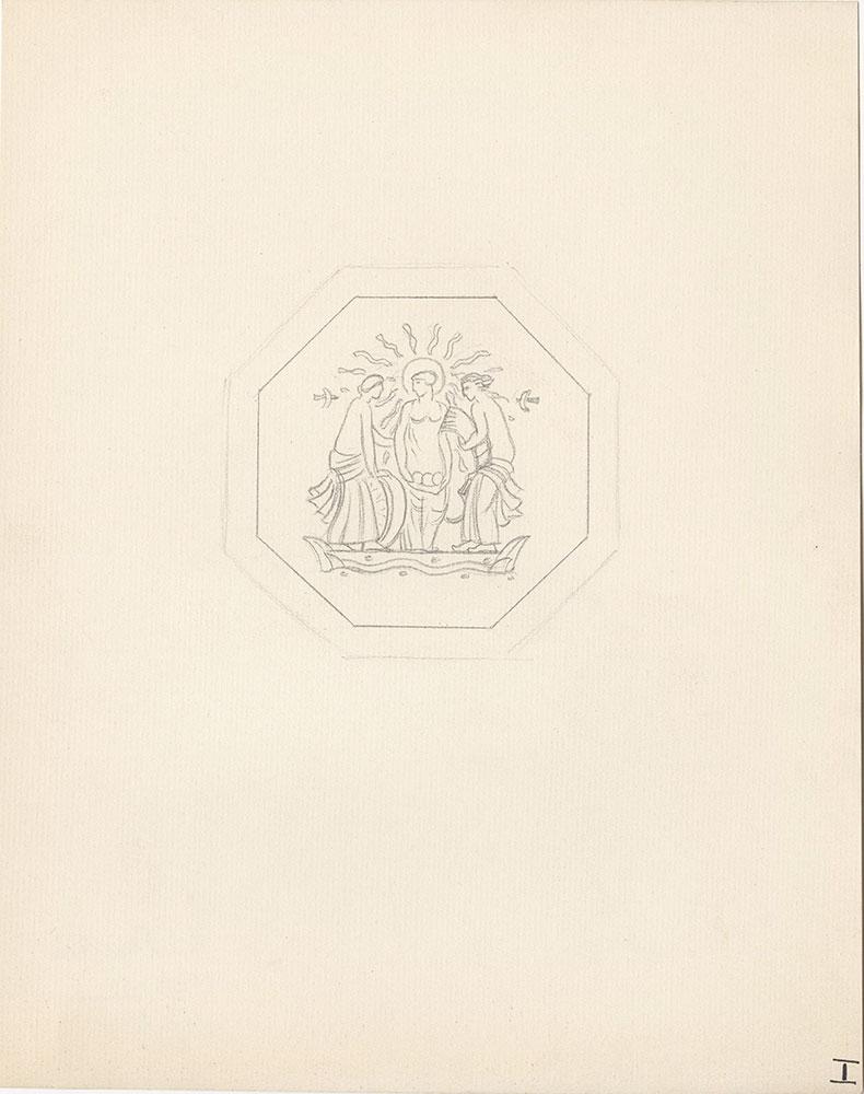 Milhous Sketch - Three Women