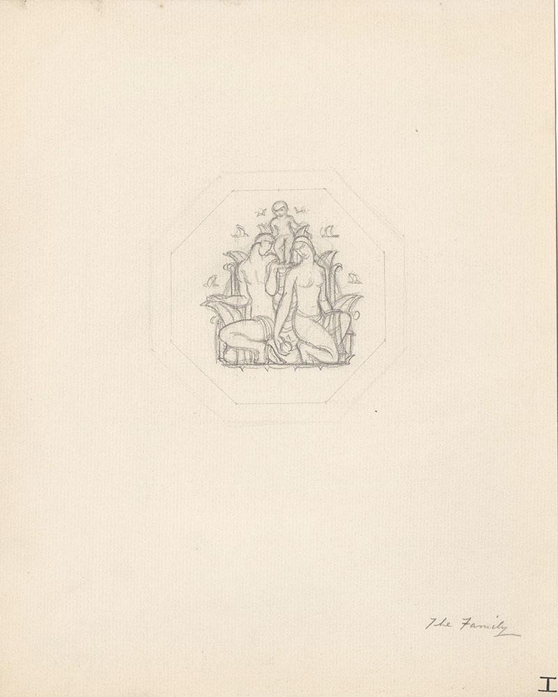 Milhous Sketch - The Family