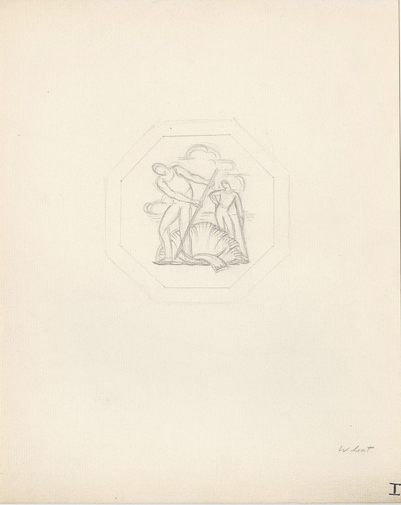 Milhous Sketch - Wheat