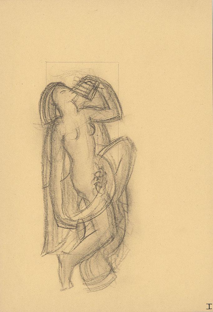 Milhous Sketch - Nymph