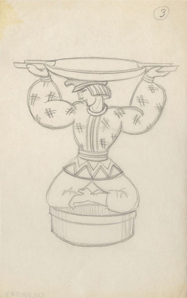 Milhous Sketch - The Water Bearer