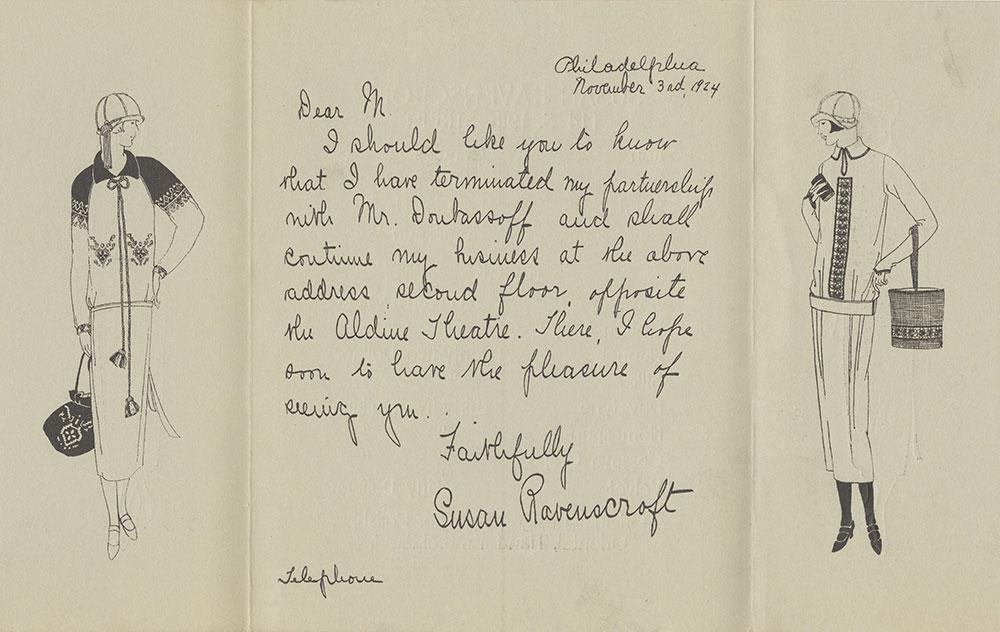 Susan Ravenscroft Pamphlet