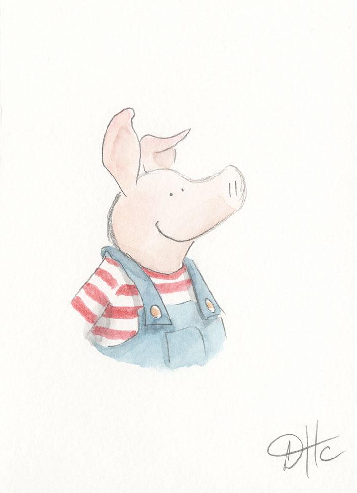 Sketch of Little Pig