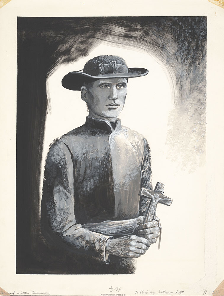 Armed with Courage - Father Damien, pg. 24