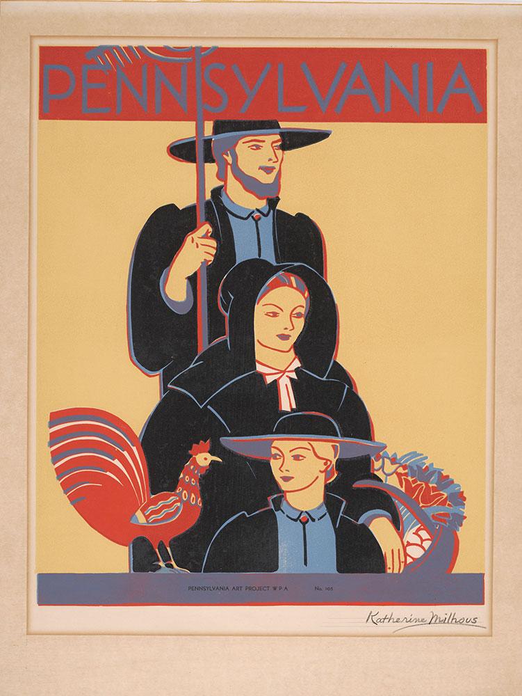 Milhous - WPA poster,