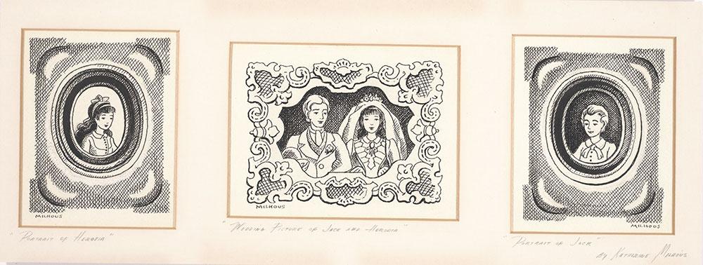 Milhous - Final art for pages 27, 155, 177