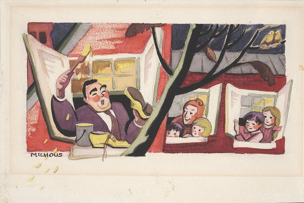 Milhous - Page 9, final art for