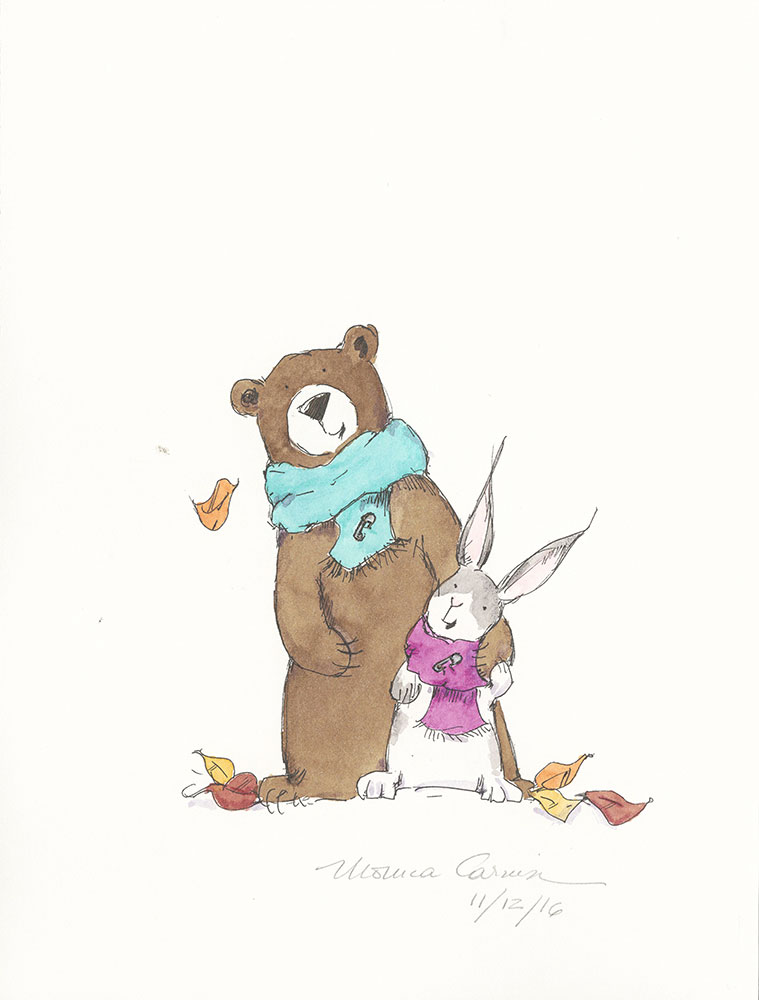 Beatrice and Bear for #KidLitSafetyPins - Final Art