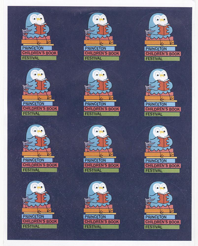 Princeton Children's Book Festival, 2016 - Sticker Sheet