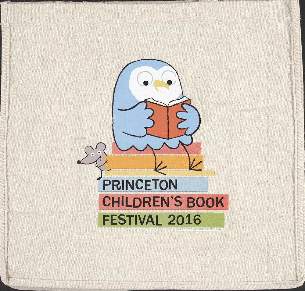 Princeton Children's Book Festival, 2016  - Tote Bag
