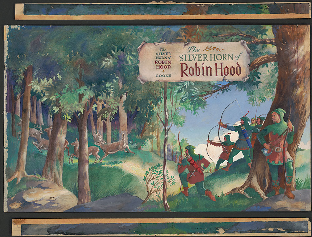 Cooke - The Silver Horn of Robin Hood - Cover Art