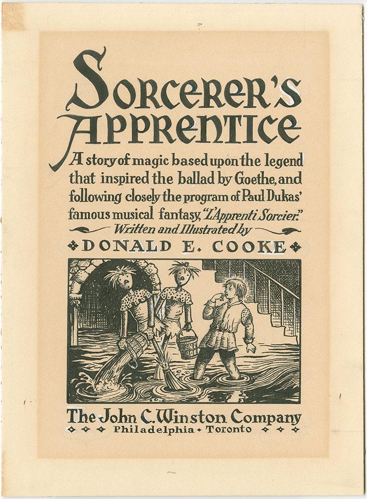 Cooke - Sorcerer's Apprentice - Title Page