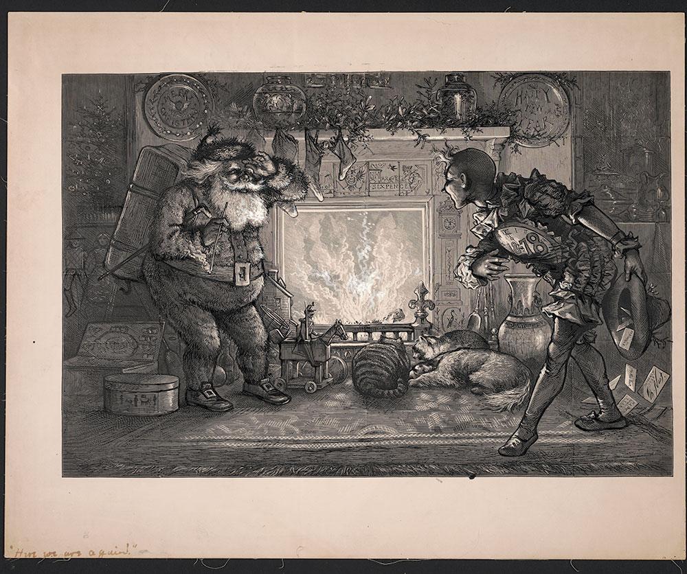 Nast - Christmas Illustration