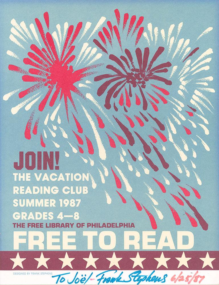 Stephens - Vacation Reading Club - 1987