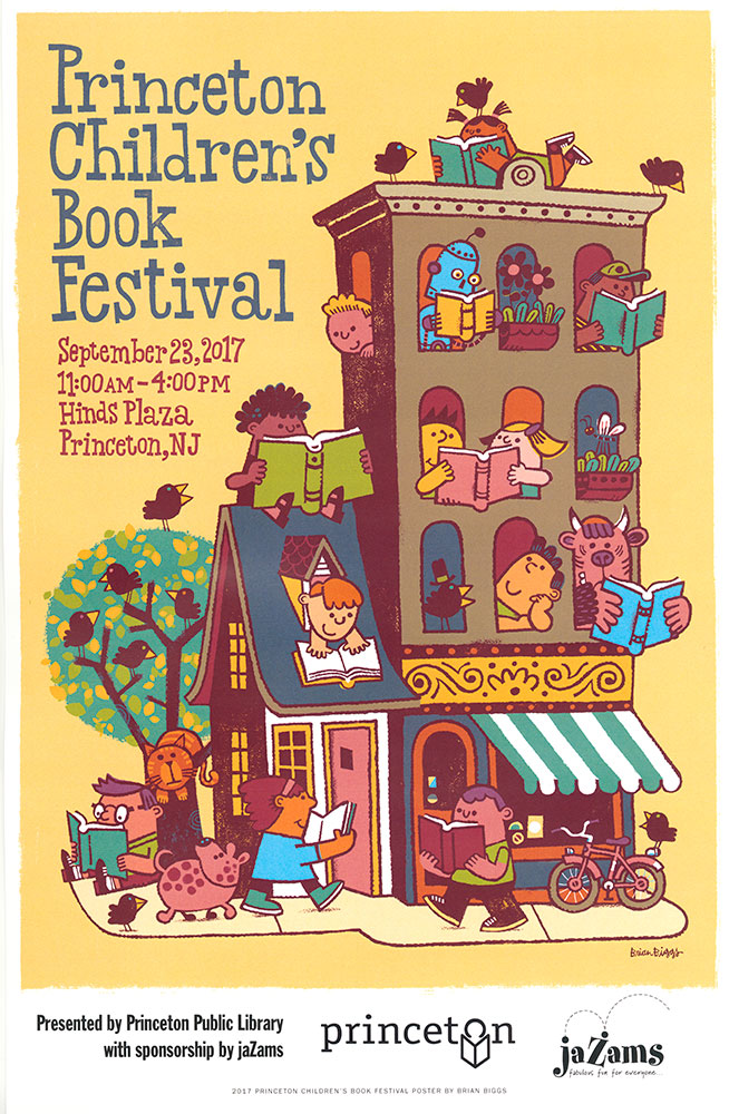 Princeton Children's Book Festival, 2017 - Poster