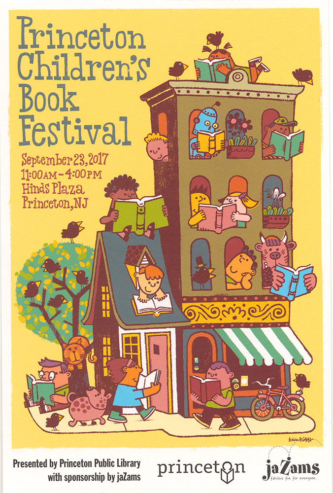 Princeton Children's Book Festival, 2017 - Handbill, front