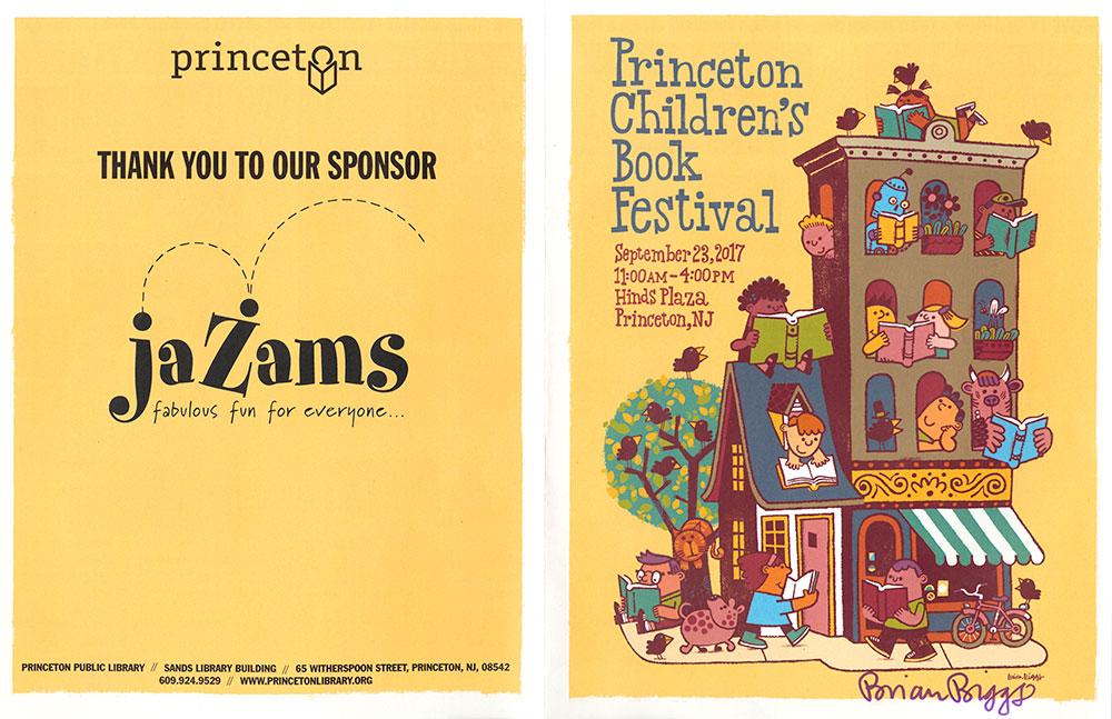 Princeton Children's Book Festival, 2017 - Festival Guide - Outside