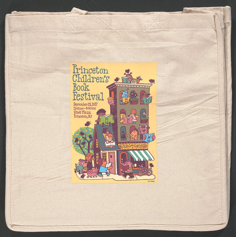 Princeton Children's Book Festival, 2017  - Tote Bag