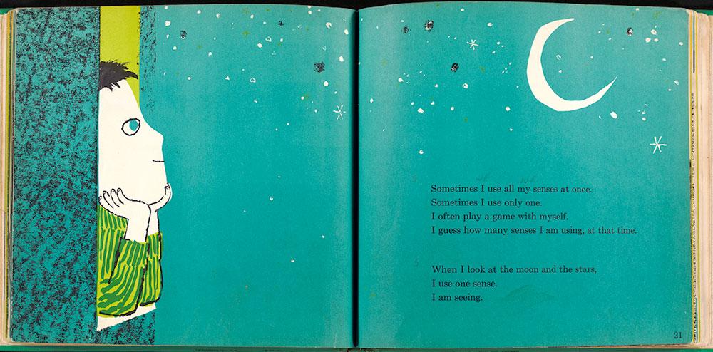 My Five Senses - Pages 20-21