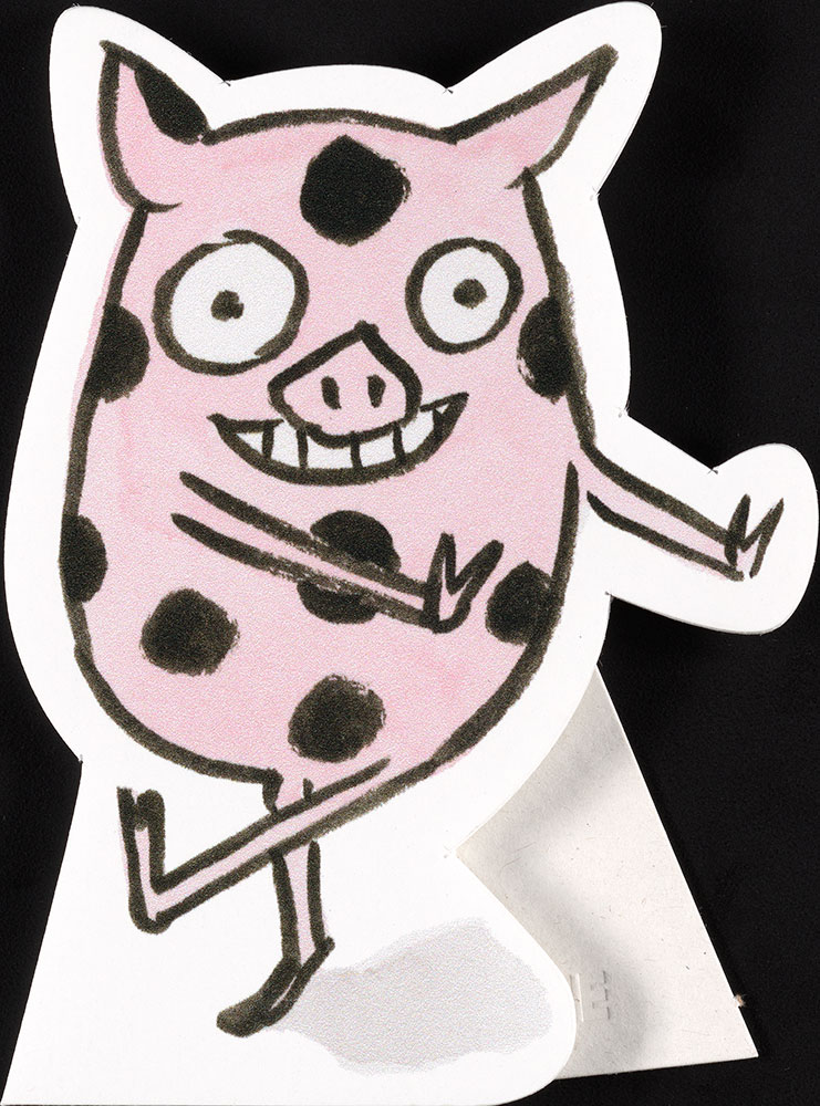 Steele - A Normal Pig - Promotional Material