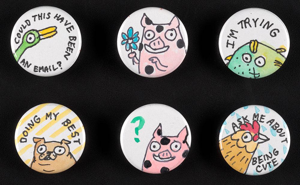 Steele - Miscellaneous Button Set