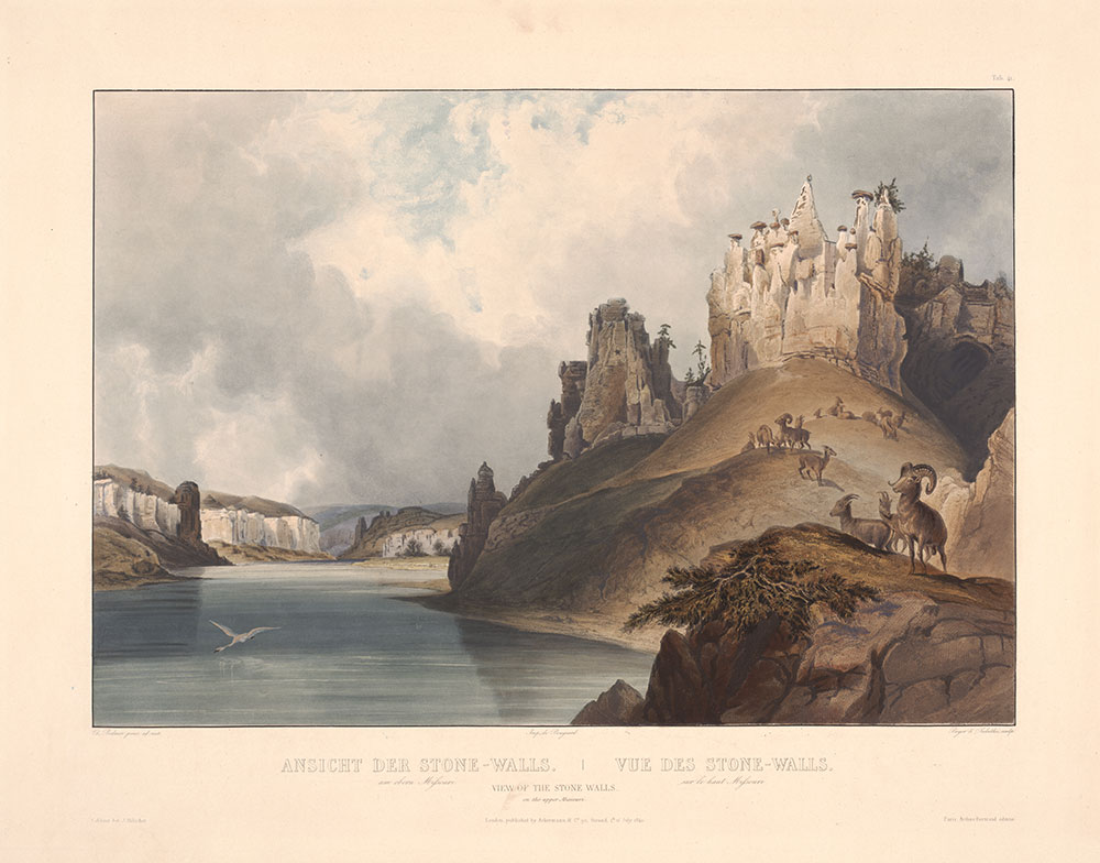 Illustrations to Maximilian Prince of Wied's Travels in the interior of North America