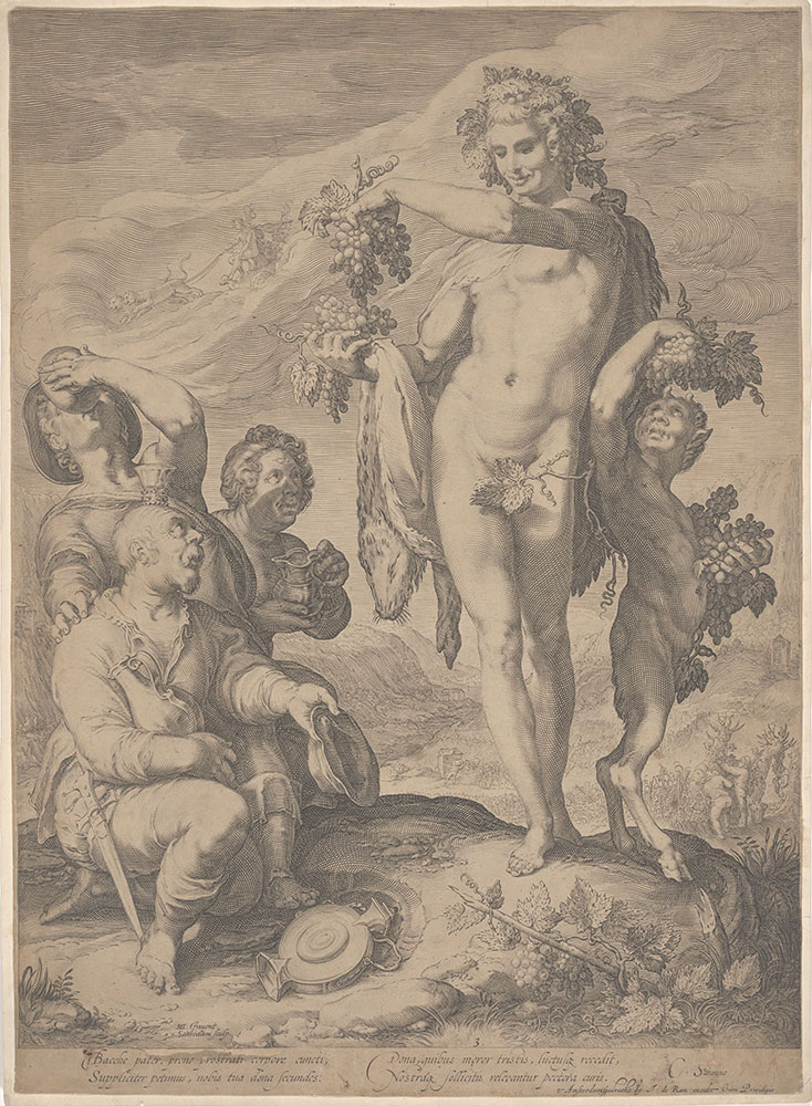 Drinkers Asking Bacchus for the Continuation of His Gifts