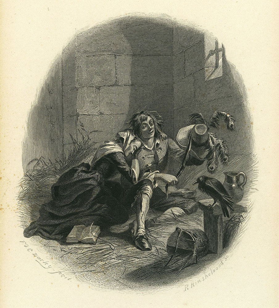 Barnaby Rudge - Mary Rudge and Barnaby Rudge