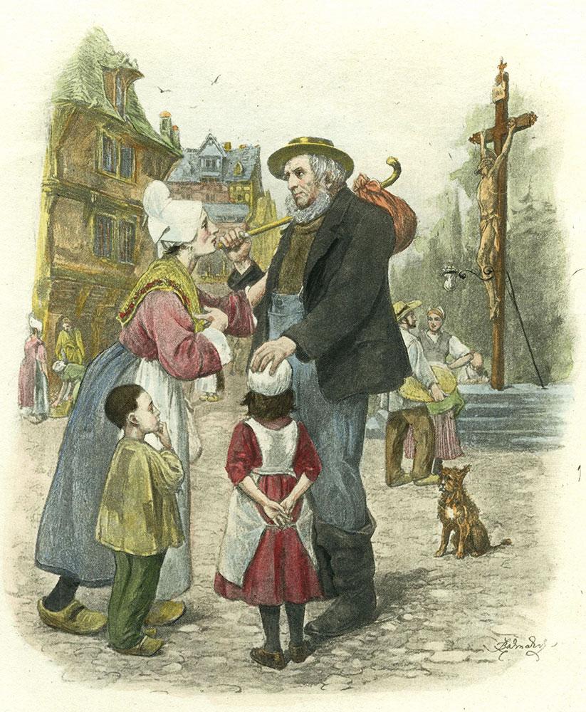 David Copperfield - Mr. Peggotty (The Wanderer)