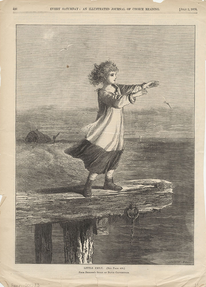 Little Em'ly From Dickens's Story of David Copperfield